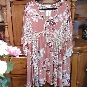 NWT made in USA size large boho dress or top